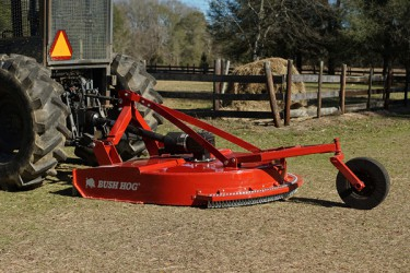 Bush Hog Tractor Attachments - Since 1951, Bush Hog has delivered dependable rotary cutters, finishing mowers, landscape tools and a wide variety of tractor mounted implements.�