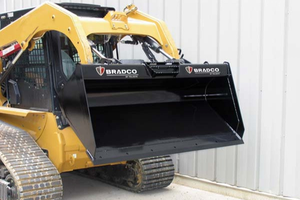 Paladin | Bradco | Low-Profile Dirt Bucket for sale at Grower's Equipment, South Florida