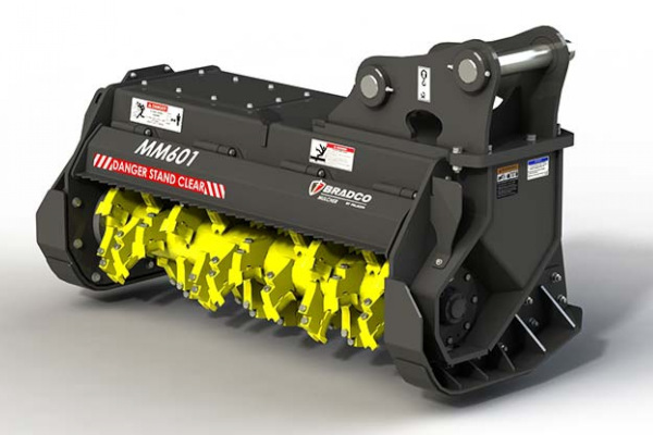 Paladin | Bradco HD EX Mulcher | Model MM601 for sale at Grower's Equipment, South Florida