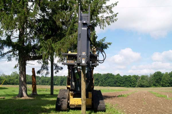 Paladin | Bradco | Post Driver for sale at Grower's Equipment, South Florida