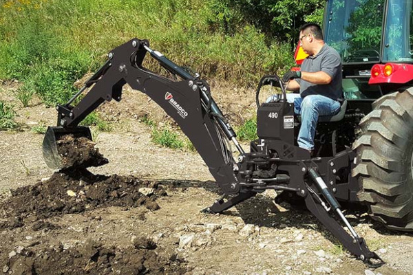 Paladin | Bradco SS/TR Backhoe | Model Backhoe 490 for sale at Grower's Equipment, South Florida