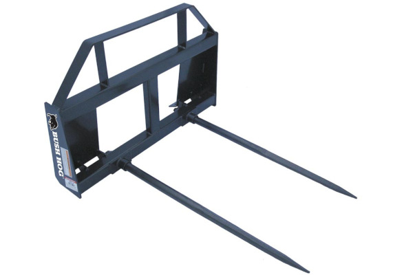 Bush Hog BS-2 Tractor-Mounted Bale Spear for sale at Grower's Equipment, South Florida