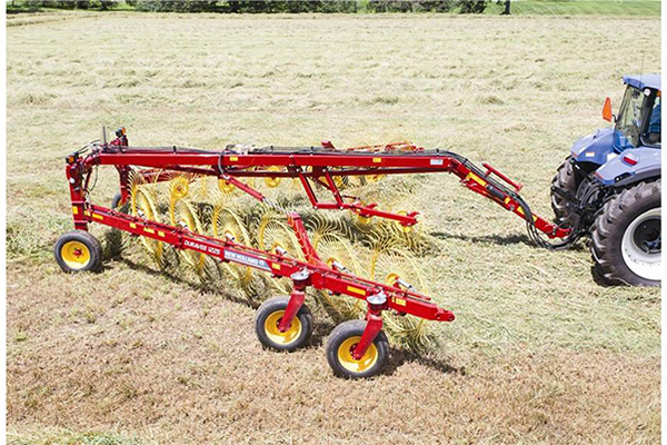New Holland AG | DuraVee Trailing Wheel Rakes | Model DuraVee 1833 for sale at Grower's Equipment, South Florida
