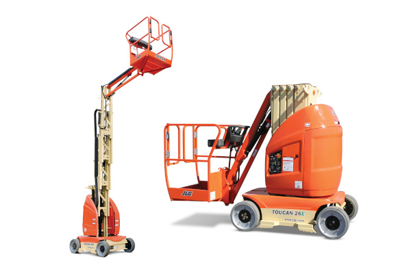 JLG | Toucan Mast Boom Lifts | Model 26E for sale at Grower's Equipment, South Florida