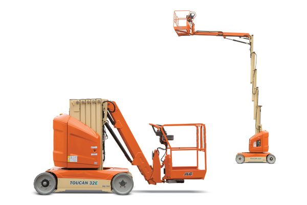 JLG | Toucan Mast Boom Lifts | Model 32E for sale at Grower's Equipment, South Florida