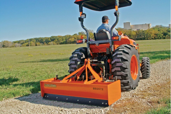 Land Pride | BB25 Series Box Scrapers | Model BB2572 for sale at Grower's Equipment, South Florida