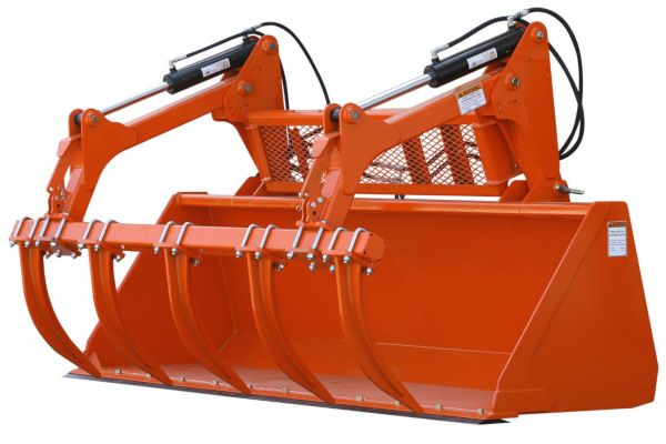 Land Pride | Dirtworking | GB25 & GBE25 Series Grapple Buckets for sale at Grower's Equipment, South Florida