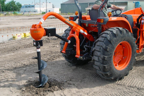 Land Pride | Dirtworking | PD35 Series Post Hole Diggers for sale at Grower's Equipment, South Florida