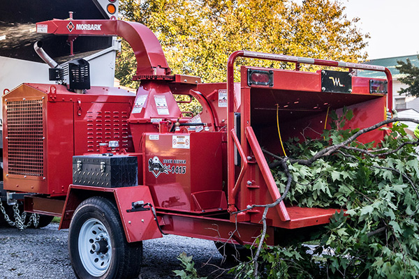 Morbark | Brush Chippers | Model EEGER BEEVER™ 1415 BRUSH CHIPPER for sale at Grower's Equipment, South Florida