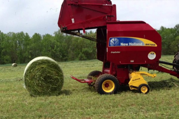 New Holland AG | Roll-Belt Round Balers | Model BR7060 Standard (PRIOR MODEL) for sale at Grower's Equipment, South Florida