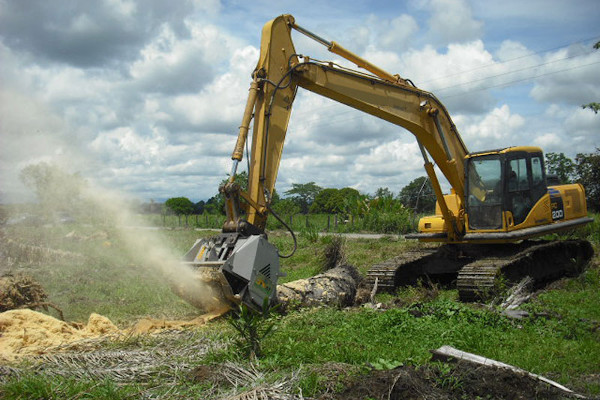 FAE Group | Hydraulic Driven Heads | Excavator Mulchers for sale at Grower's Equipment, South Florida