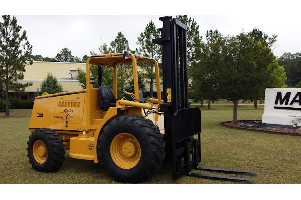 Master Craft | C Series Rough Terrain Forklifts | Model C-05-10116 for sale at Grower's Equipment, South Florida