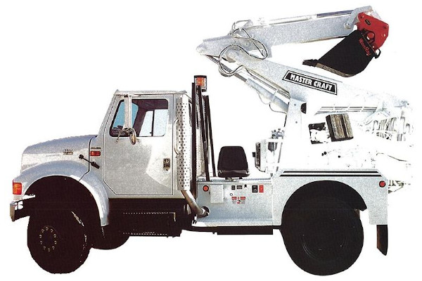 Master Craft | Rough Terrain Forklifts | Truck Mounted Backhoe for sale at Grower's Equipment, South Florida