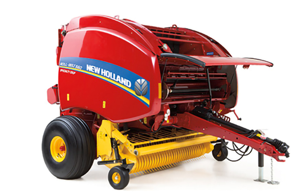 New Holland AG | Roll-Belt Round Balers | Model Roll-Belt 550 for sale at Grower's Equipment, South Florida