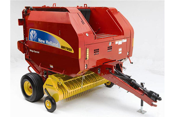 New Holland AG | Roll-Belt Round Balers | Model BR7050 for sale at Grower's Equipment, South Florida